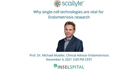 Why single-cell technologies are vital for  Endometriosis research tickets