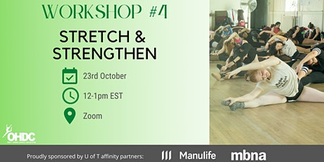 OHDC Workshop 4: Stretch and Strengthen tickets