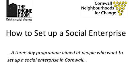 How to set up a Social Enterprise tickets