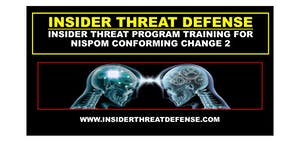 Insider Threat Program Development Training Course...