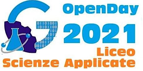 OpenDay 2021 - Liceo Scienze Applicate biglietti