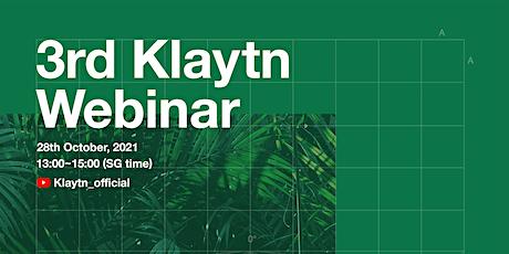 Klaytn Webinar: Klaytn DeFi Ecosystem Global Expansion tickets