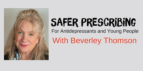 Safer Prescribing - For Antidepressants and Young People tickets