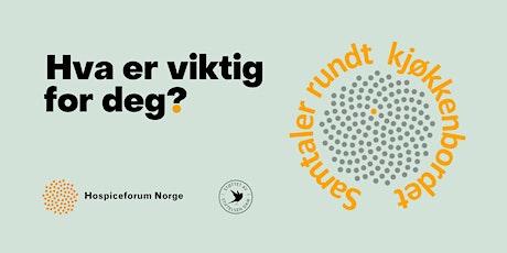 Folkemøte for å skape mer åpenhet om døden - Oslo tickets
