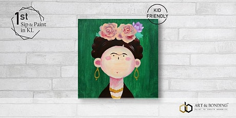 Sunday Sip & Paint : Cute Little Frida tickets