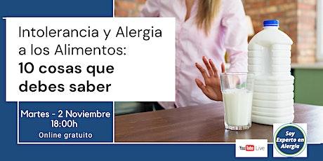 Intolerancia y Alergia a los Alimentos: 10 cosas que debes saber entradas