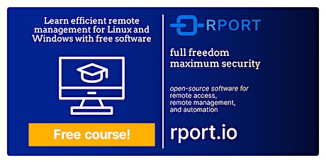 Efficient remote management for Linux and Windows with free software tickets