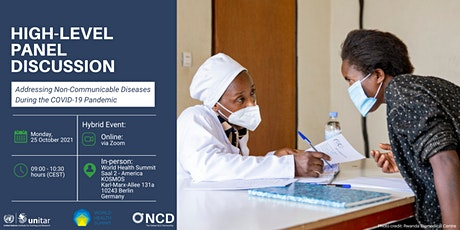 PD 12 - Addressing Non-Communicable Diseases During the COVID-19 Pandemic tickets