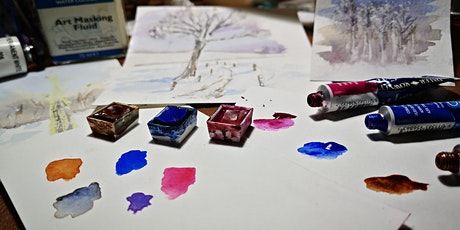 Watercolour Painting - Winter Landscapes (ONLINE) tickets