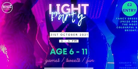 Nantwich Elim Church's Light Party tickets
