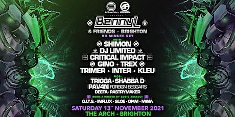 Benny L & Friends - Brighton tickets