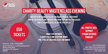 Charity Beauty Masterclass Evening tickets