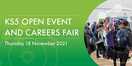 KS5 Open Evening and Careers Fair tickets