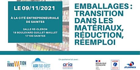 Emballages: transition dans les matériaux, réduction, réemploi billets