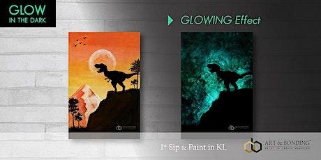 Glow Sip & Paint : Glow - T-Rex tickets