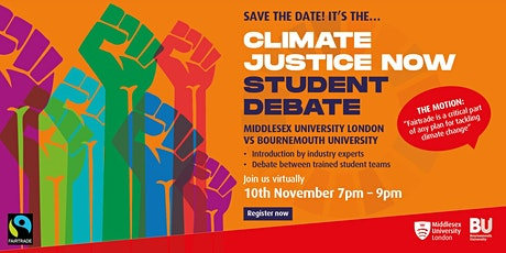 Climate Justice Now: Online Student Debate tickets