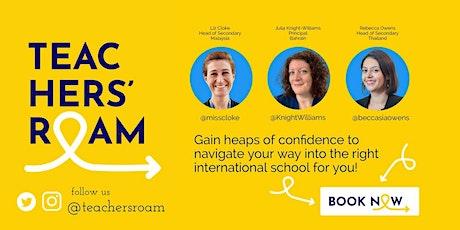 Teachers Roam: Making the leap internationally tickets