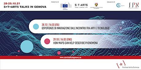 S+T+ARTS Talks in Genova 2021 tickets