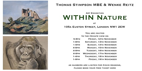 WITHIN Nature Private View tickets