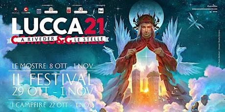 """Andrea """"il Rosso"""" @ Lucca Comics & Games 2021 biglietti"""