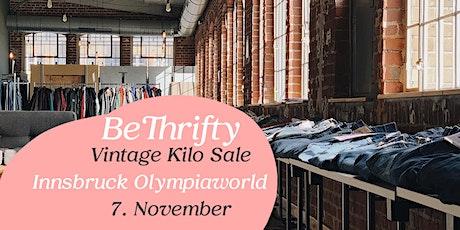 BeThrifty Vintage Kilo Sale | Innsbruck | 7. November Tickets