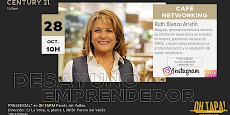 DESAYUNO EMPRENDEDOR. Ruth Blanco entradas
