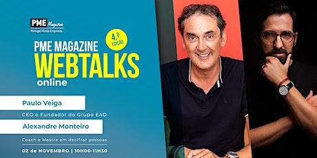 PME Magazine Webtalks - 4.ª edição ingressos