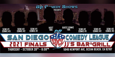 2021 San Diego Comedy League FINAL Show at JJ's OB, Wed. 10/28 , 8pm tickets