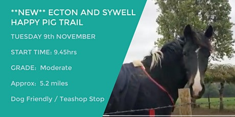 **NEW* ECTON & SYWELL HAPPY PIG TRAIL | 5.2 MILES | MODERATE | NORTHANTS tickets