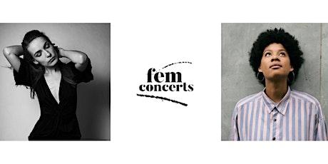 fem concerts presents Joy Bogat + Maria Basel Tickets