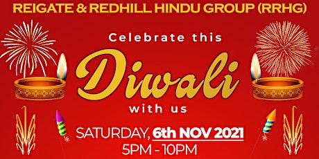 Diwali Festival Celebration - Reigate & Redhill Hindu Group (RRHG) tickets