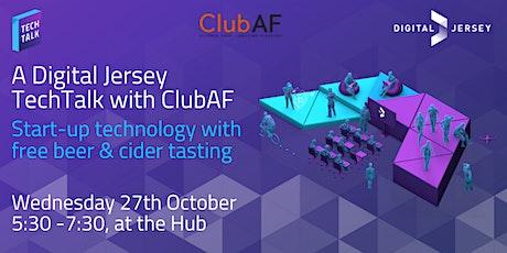 Club AF TechTalk: Start-up technology with free beer & cider tasting tickets