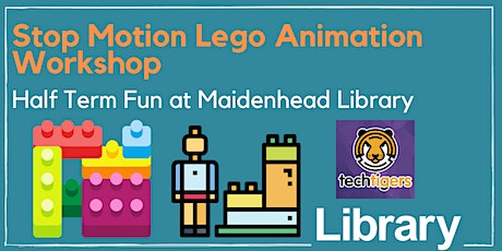 Stop Motion Lego Animation Workshop at Maidenhead Library tickets