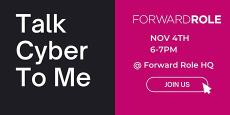 Talk Cyber To Me! tickets