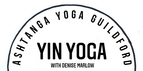 Yin Yoga with Denise Marlow tickets