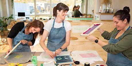 Siebdruck Workshop billets