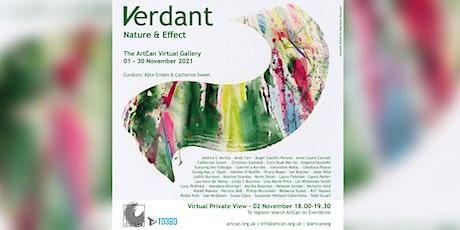 Verdant - Virtual Exhibition Private View tickets