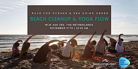 Beach Cleanup & Yoga flow - Race for Oceans @Wijk aan Zee, The Netherlands tickets