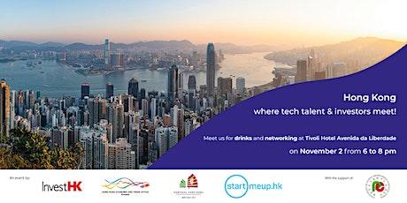Hong Kong: where tech talent & investors meet! tickets