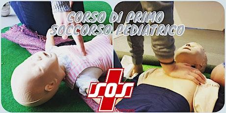 Corso di primo soccorso pediatrico 4/11 - 6/11(Pomeriggio) biglietti