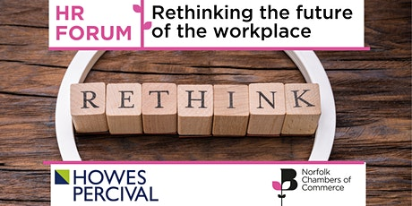 HR Forum with Howes Percival LLP - Rethinking the future of the workplace tickets