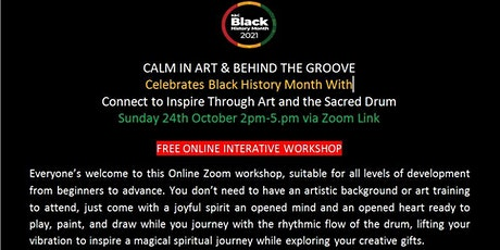Connect to Inspire Through Art and the Sacred Drum tickets
