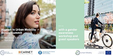 Women in Urban Mobility Annual Summit(Hybrid event) entradas