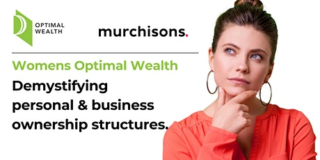 Demystifying Personal and Business Ownership Structures tickets