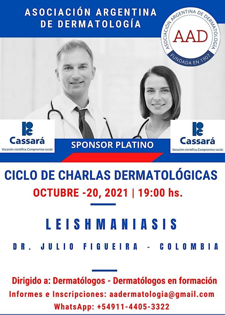 """Imagen de MASTER CLASS - LEISHMANIASIS - CICLO CHARLAS DERMATOLÓGICAS A.A.D""""-"""