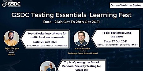 Global Testing Essentials Learning Fest tickets