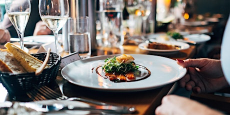 7 Course tasting menu with wine pairing tickets