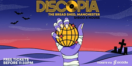 DISCOPIA: HALLOWEEN SPECIAL (FREE TICKETS B4 11.30PM) tickets