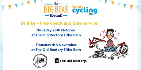 Dr Bike - Free bike check and service at The Old Rectory tickets