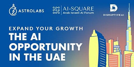 Expand your growth - The AI Opportunity in the UAE tickets
